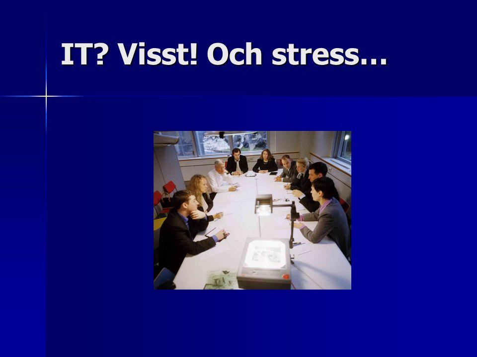 IT Visst! Och stress…