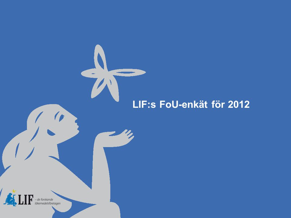 Summering: FoU-rapporten för 2012  Rapporten summerar medlemsföretagens investeringar i pre- och klinisk forskning i Sverige 2012 inklusive genomförda kliniska prövningar och icke-interventionsstudier.
