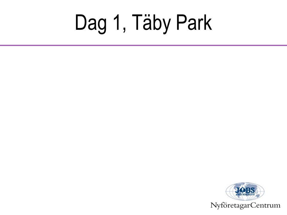 Dag 1, Täby Park