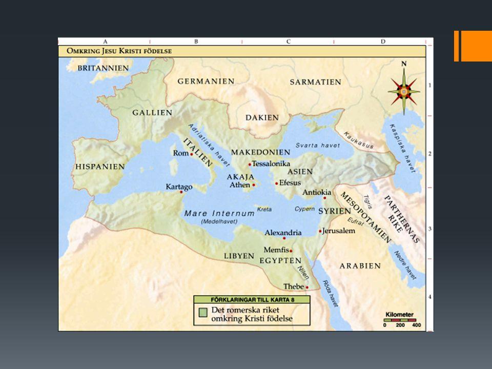 Hur växte kristendomen fram i romarriket. Lärjungarna blev nu Guds sändebud efter Jesus död.