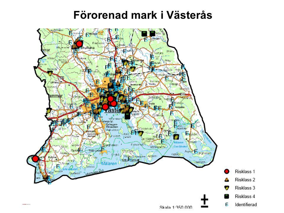 Förorenad mark i Västerås