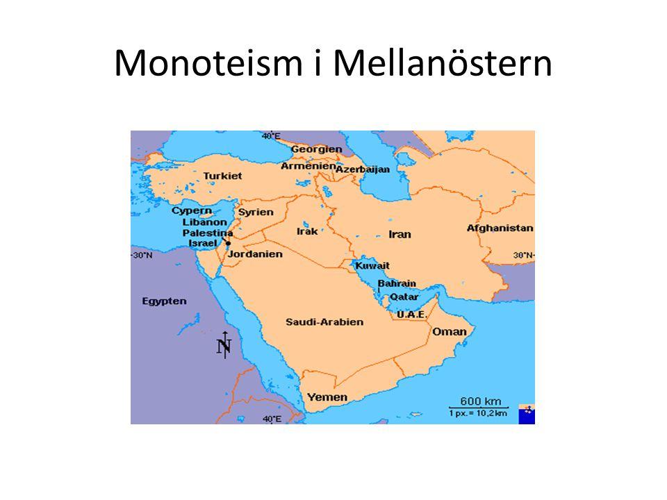 När började det – eller vem var först.JudendomKristendomIslam 1800 f.