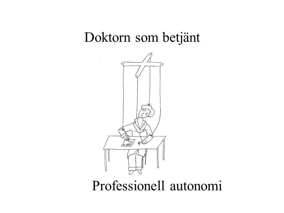Professionell autonomi