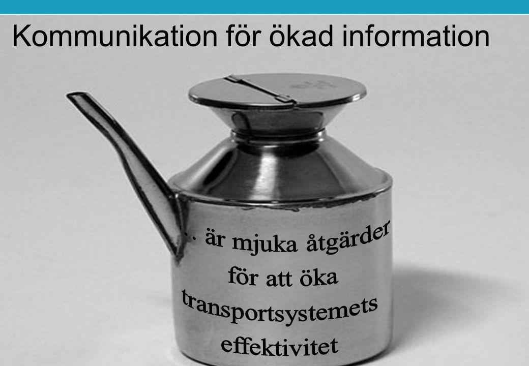 Kommunikation för ökad information