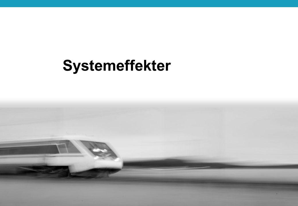 18 Få negativa effekter Synergi- eller systemeffekter saknas Bättre effektsamband Vidgad syn på synergier och systemeffekter