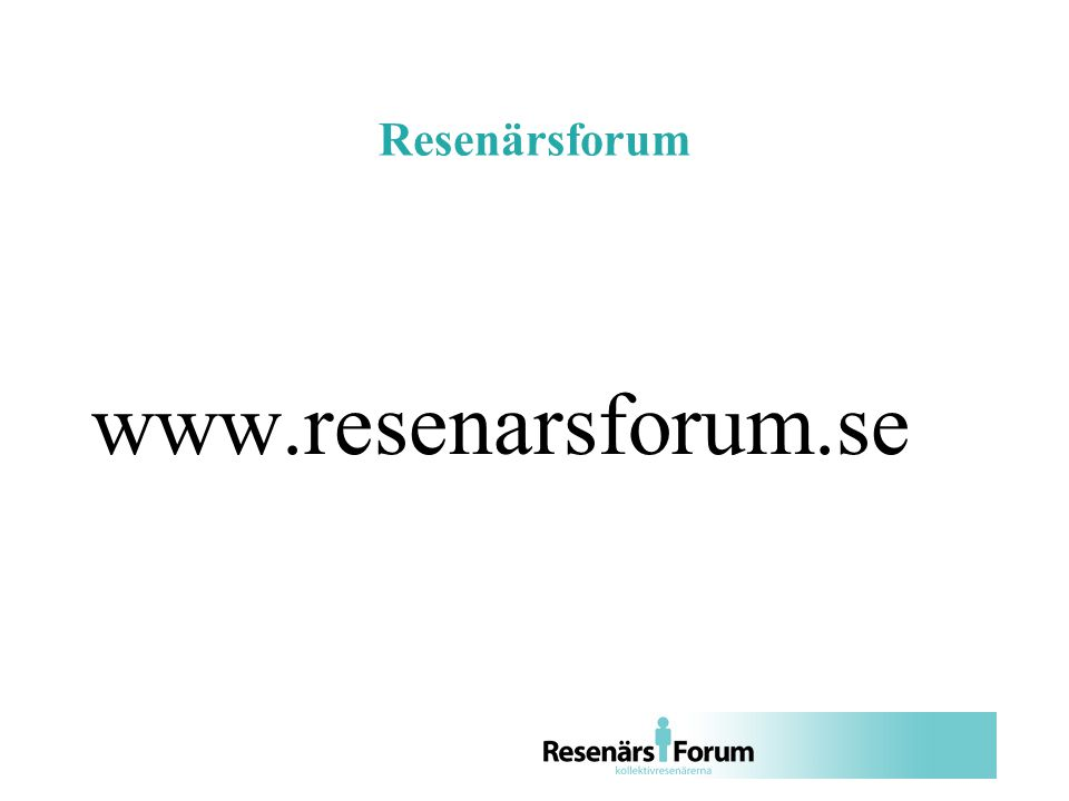 Resenärsforum www.resenarsforum.se