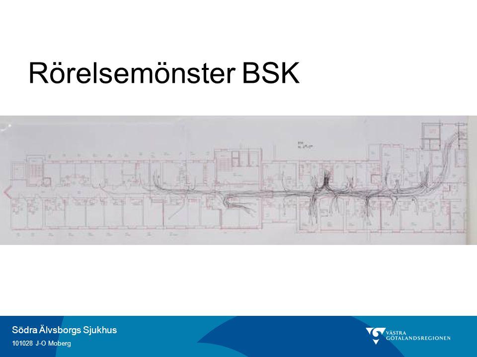Södra Älvsborgs Sjukhus 101028 J-O Moberg Rörelsemönster BSK
