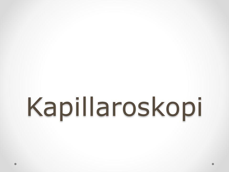 Kapillaroskopi