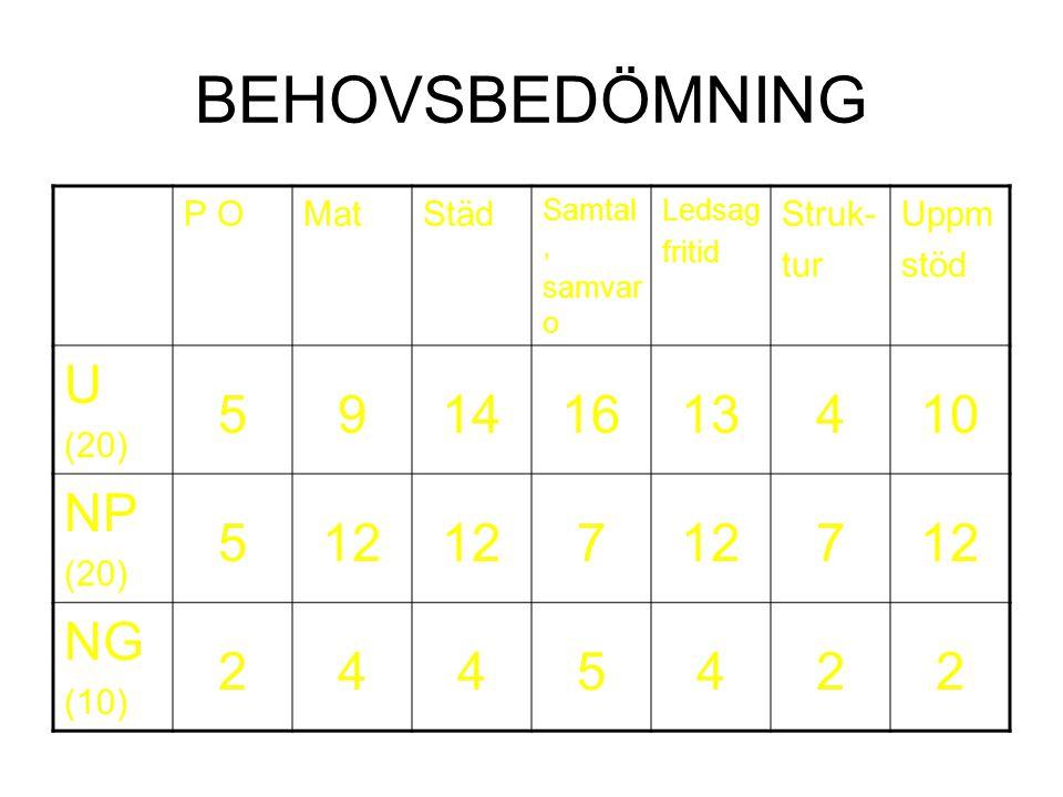 Från hemtjänst till boendestöd Uppgift och utförande Målgrupp Fara Behov 1:e mötet Tidsbundenhet Beslut