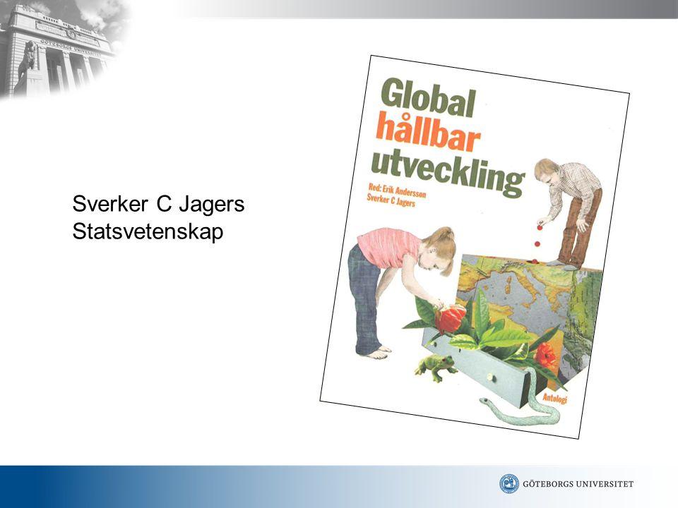 Hållbar utveckling Historik Tre komponenter 1.Social utveckling 2.