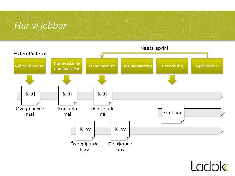 ACL Ladok 2 Resultat på Ladok2 gemensam installation Resultat GUI UmU UU LU Behörighet Central drift Befintlig drift på respektive driftcentral som idag