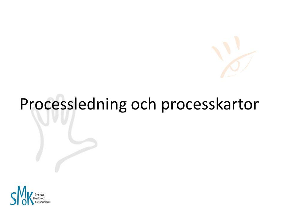 Processledning och processkartor