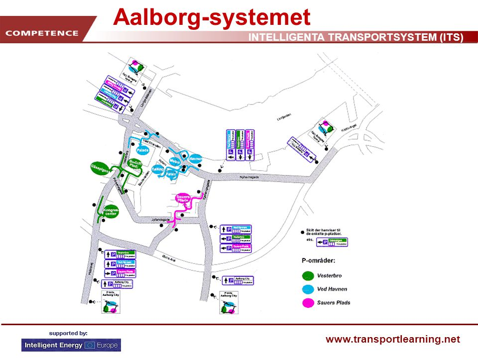 INTELLIGENTA TRANSPORTSYSTEM (ITS) www.transportlearning.net Aalborg-systemet