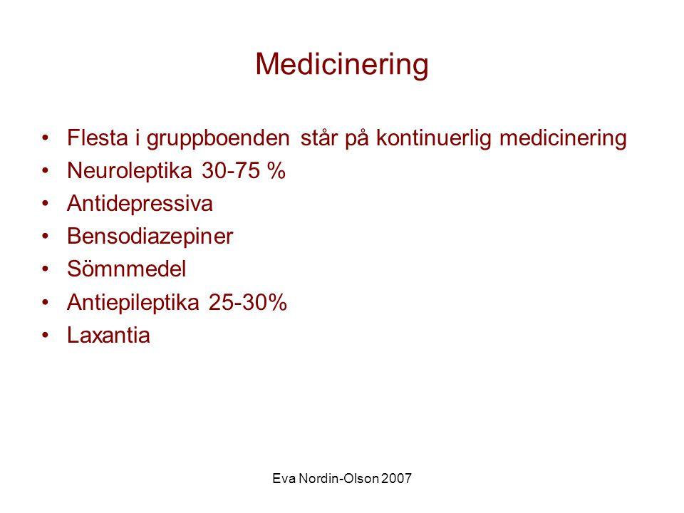 Eva Nordin-Olson 2007 Peter 27 år Tidig utvecklingsnivå Epilepsi Oro Spastisk tetrapares Kräks varje natt Sväljer lakan
