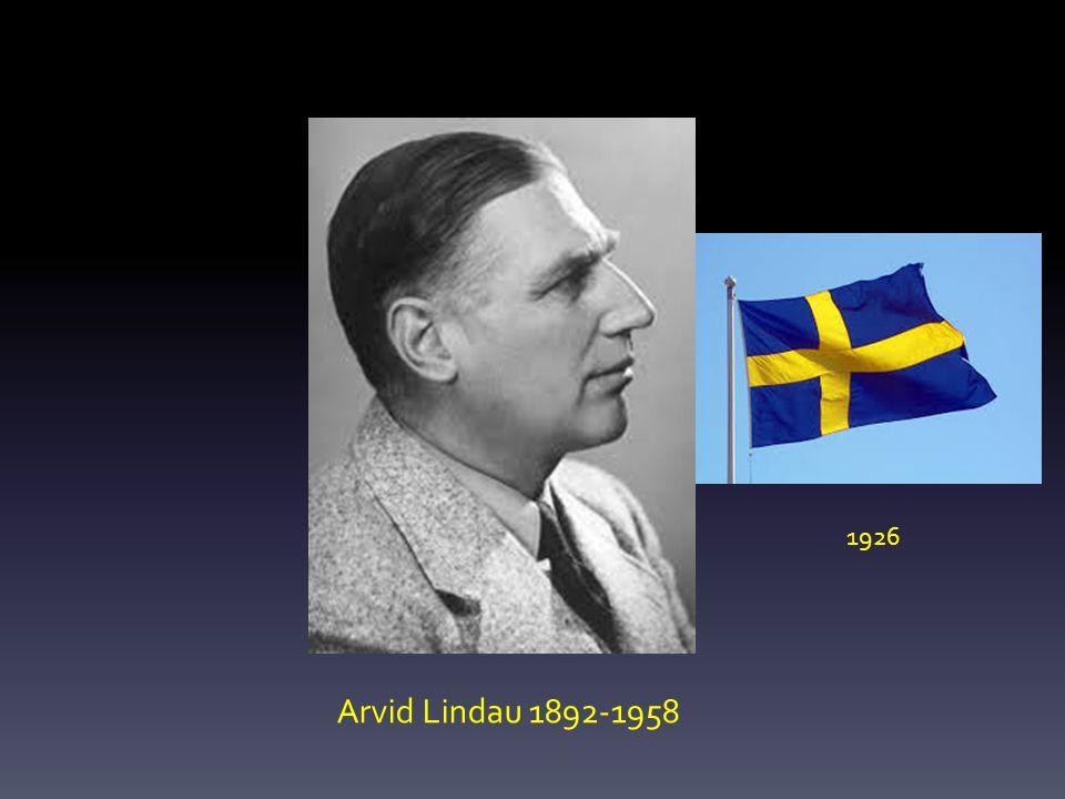 Arvid Lindau 1892-1958 1926