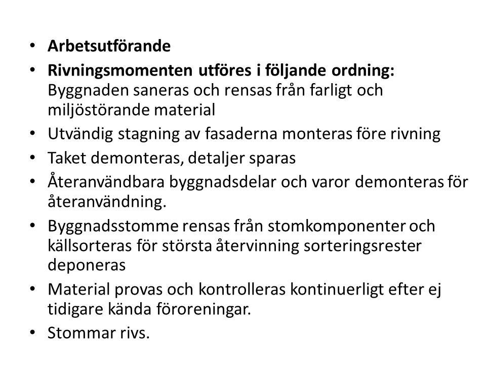 Arbetsmiljölagen Av arbetsmiljöverkets föreskrift AFS 1999:3 framgår det bl.a.