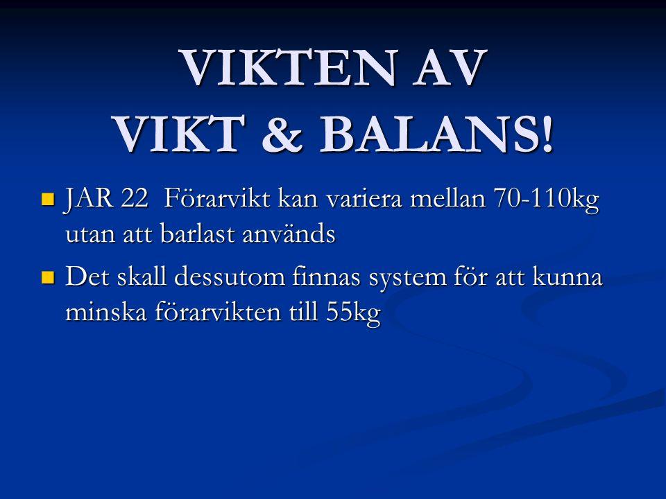 VIKTEN AV VIKT & BALANS.