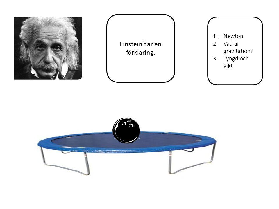 1.Newton 2.Vad är gravitation.3.Tyngd och vikt Vikt = föremålets massa.