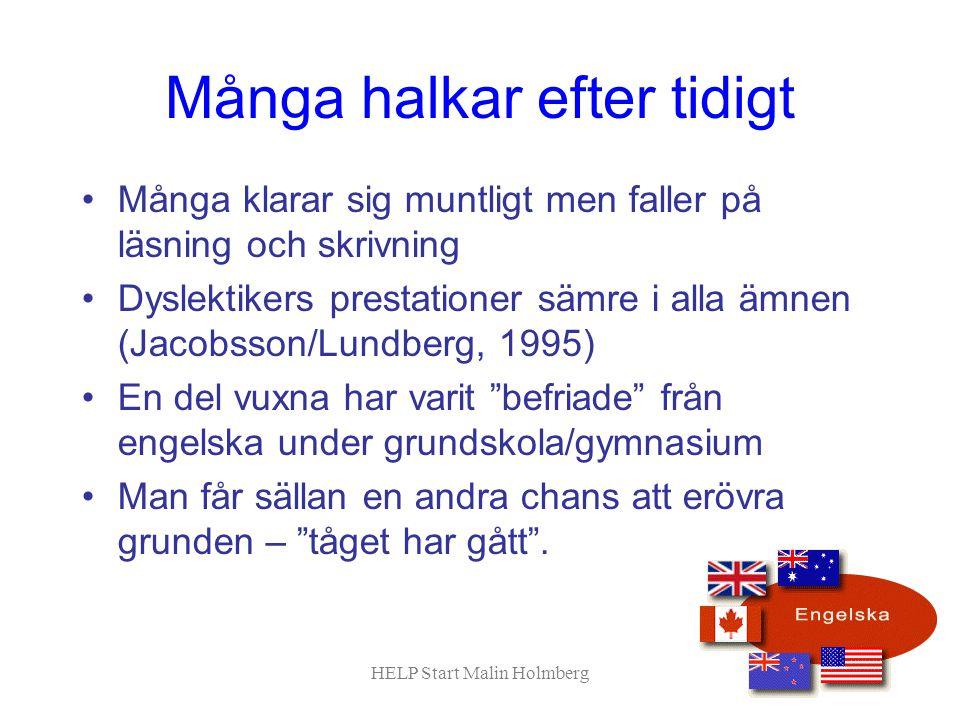 Hur är språket uppbyggt.