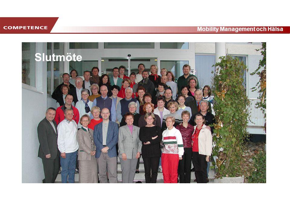 www.transportlearning.net Mobility Management och Hälsa Slutmöte