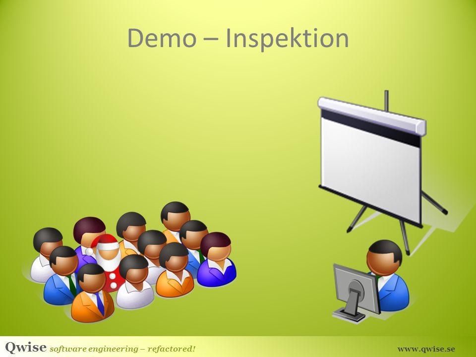 Demo – Inspektion