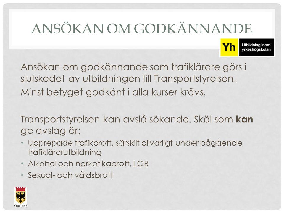 STUDIELITTERATUR STR: Verktygslådan, Körkortsbok, Teorihäfte, Körhäfte, Vägmärken/test NTF: Trafikförfattningar 2014 Går budskapet fram eller……………..