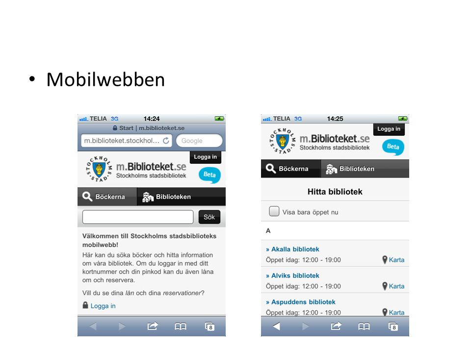 Mobilwebben