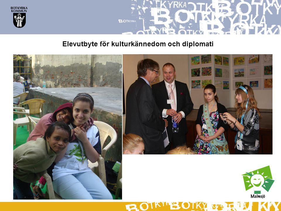 Elevutbyte för kulturkännedom och diplomati