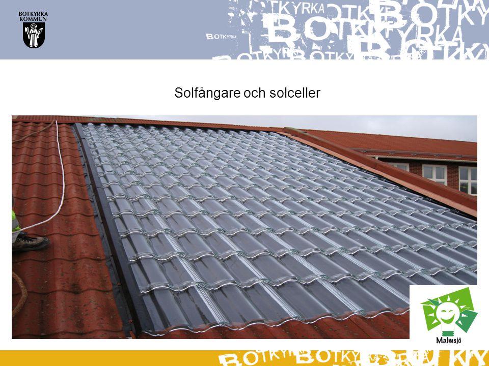 Solfångare och solceller