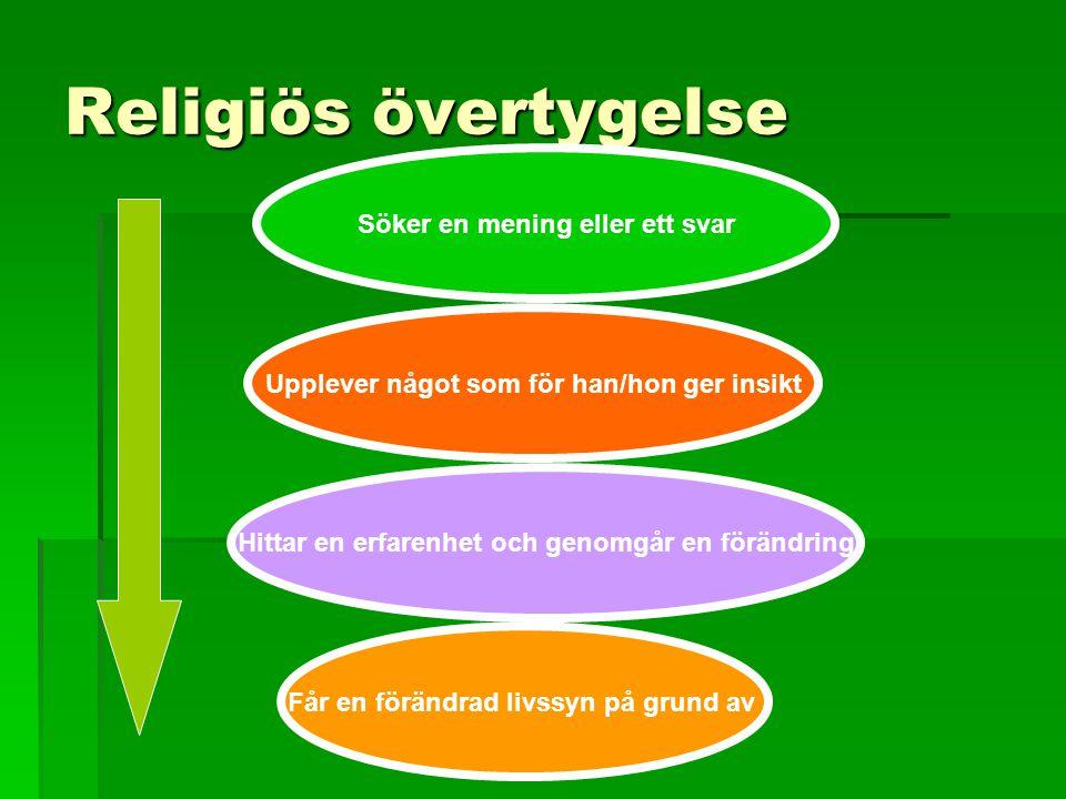 Vad är en religion.