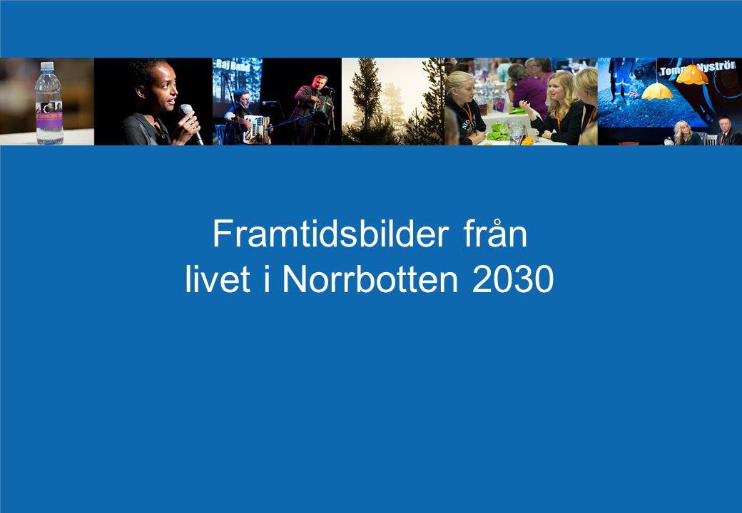 Framtidsbilder från livet i Norrbotten 2030