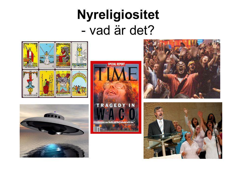 Nyreligiositet - vad är det?