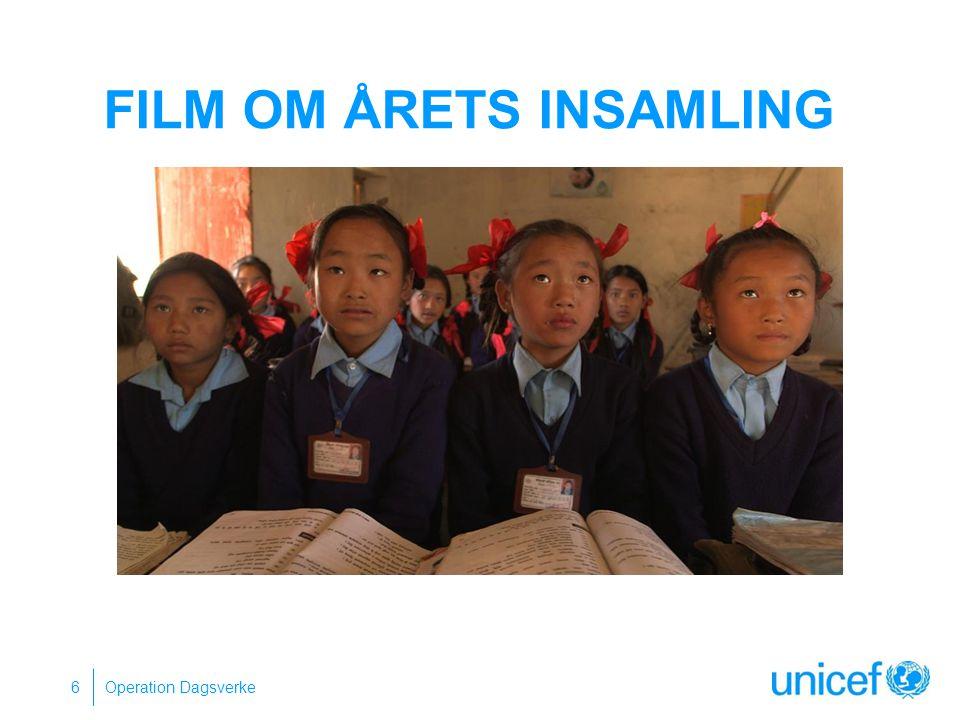 ASHA 16 år Började som hemhjälp när hon var 9 år UNICEFs Urban Out of school program Framtidsdröm Att bli självständig.