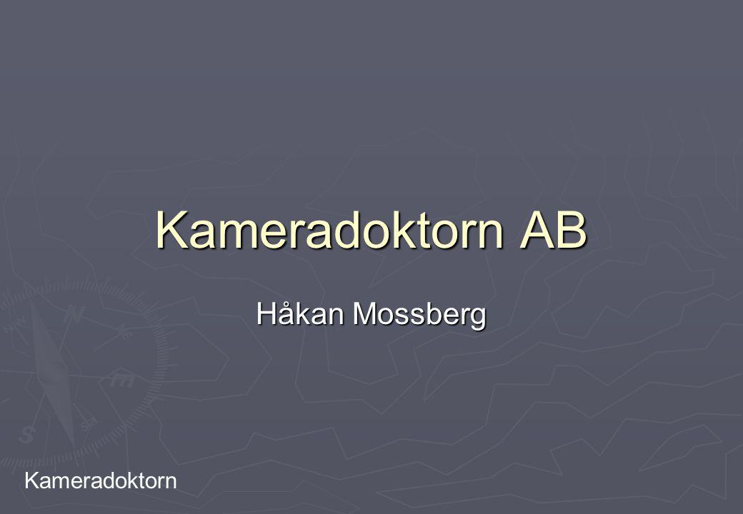 Kameradoktorn Kameradoktorn AB Håkan Mossberg