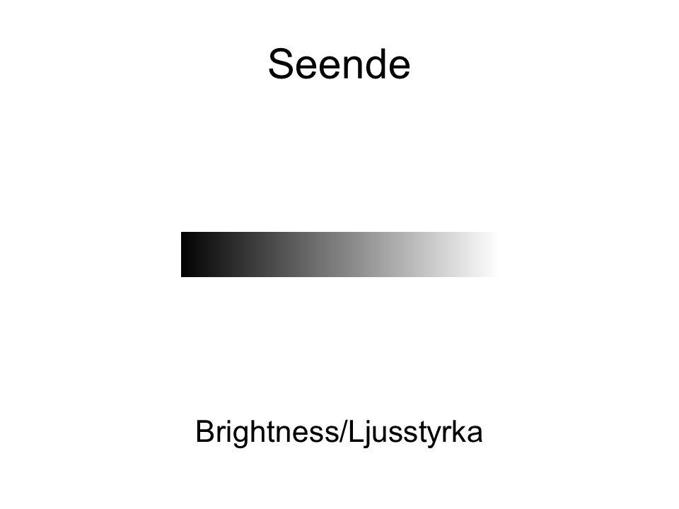 Brightness/Ljusstyrka