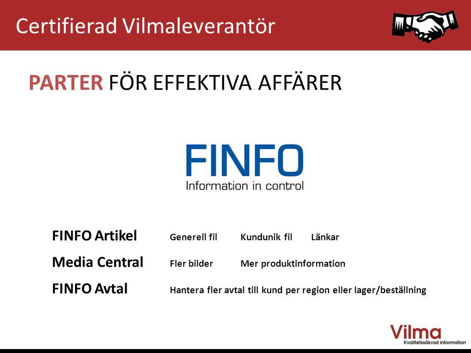 EDIMASTERDATARMA HALDEN STOCKHOLM OSLO PARTER FÖR EFFEKTIVA AFFÄRER Certifierad Vilmaleverantör