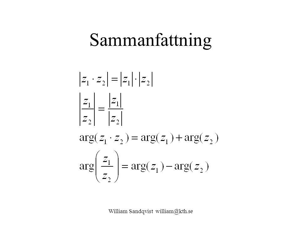 William Sandqvist william@kth.se Sammanfattning