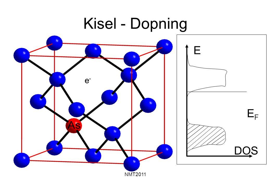 NMT2011 e-e- Kisel - Dopning DOS E EFEF