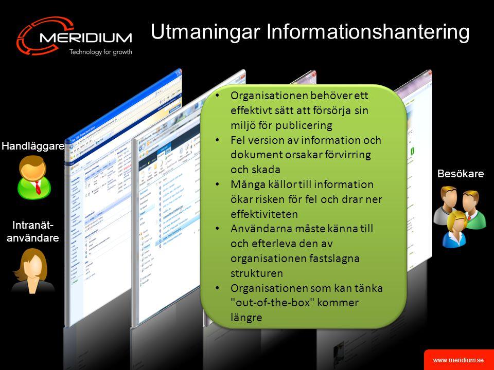 www.meridium.se Summering och frågestund