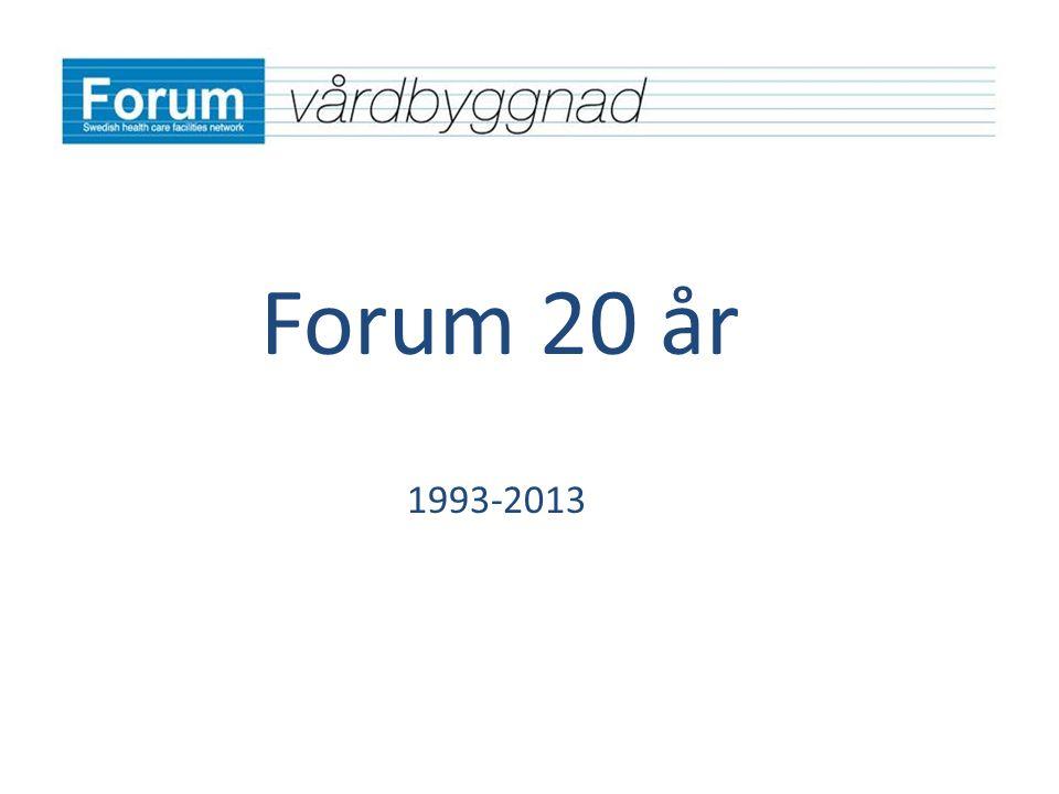 Forum 20 år 1993-2013