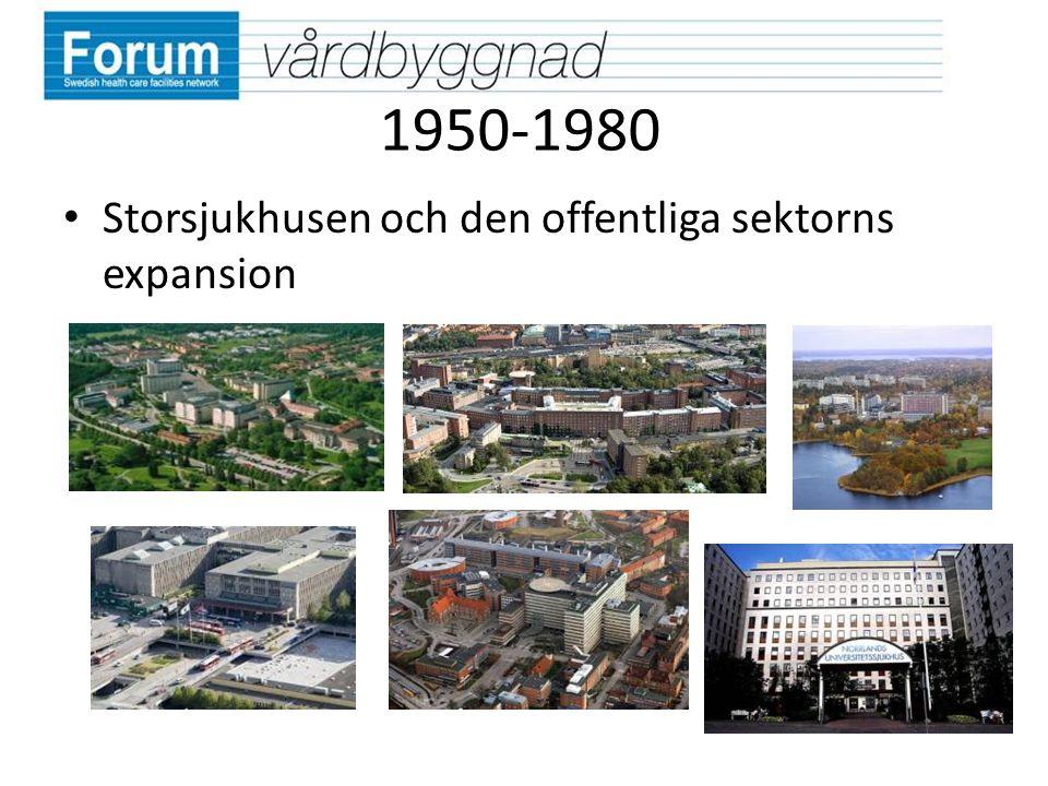 1950-1980 Storsjukhusen och den offentliga sektorns expansion