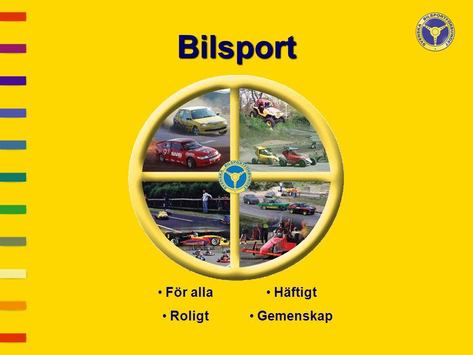 För alla Roligt Häftigt Gemenskap Bilsport