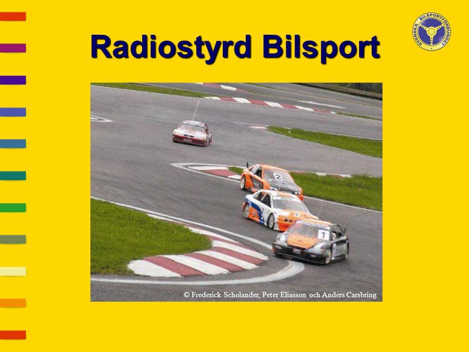 Radiostyrd Bilsport © Frederick Scholander, Peter Eliasson och Anders Carsbring
