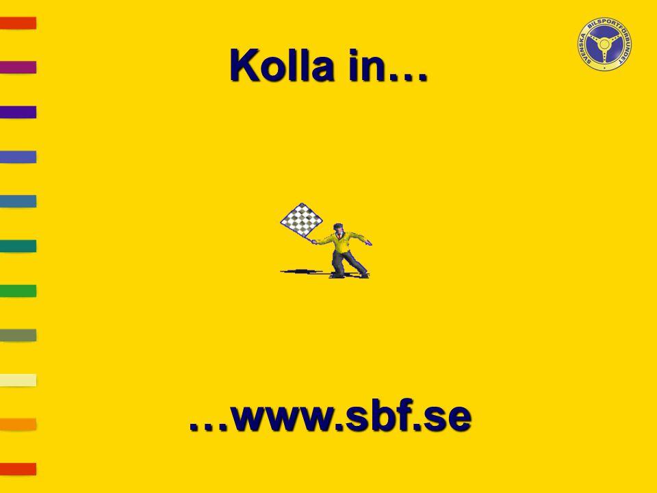 Kolla in… …www.sbf.se