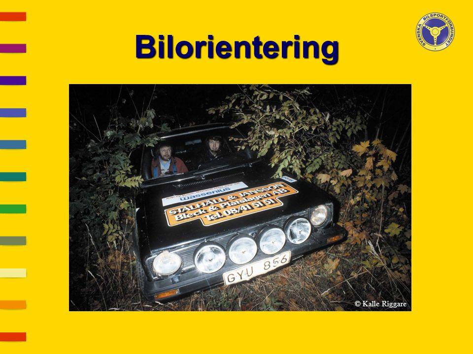 Bilorientering © Kalle Riggare