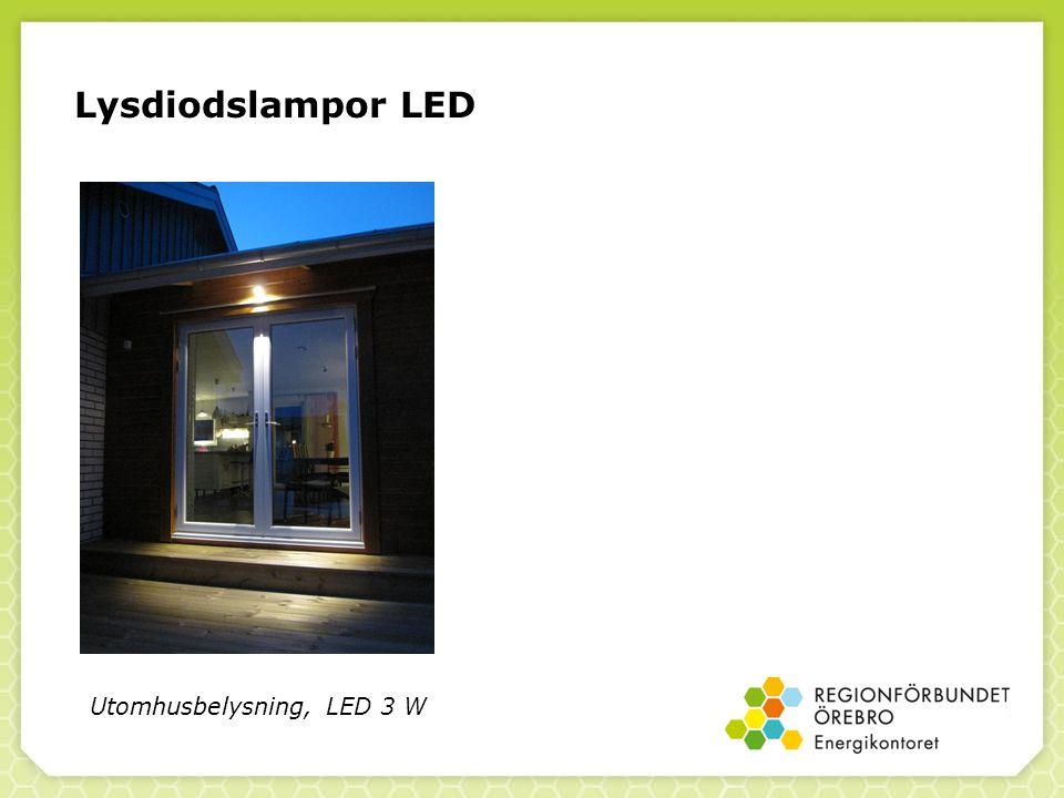 Lysdiodslampor LED Utomhusbelysning, LED 3 W