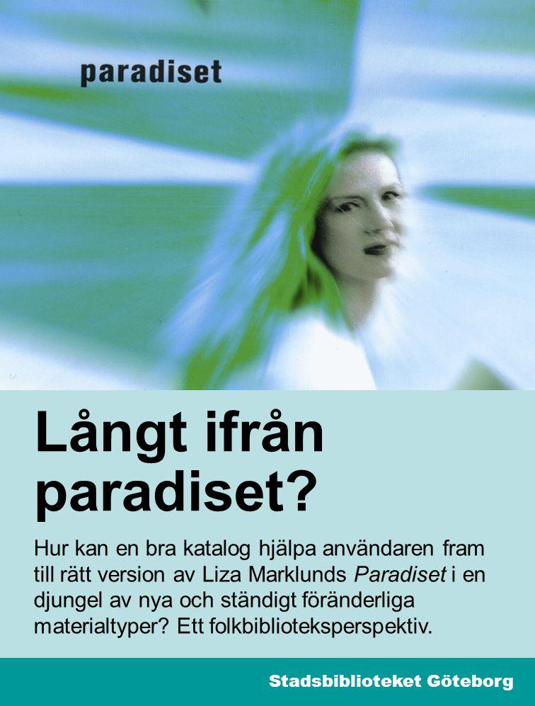 12 Ondskan II Träfflista: 4 E-böcker Elektronisk resurs [E-ljudbok–streaming] [E-ljudbok och text] [E-bok] [E-bok] LL-förlaget Stadsbiblioteket Göteborg