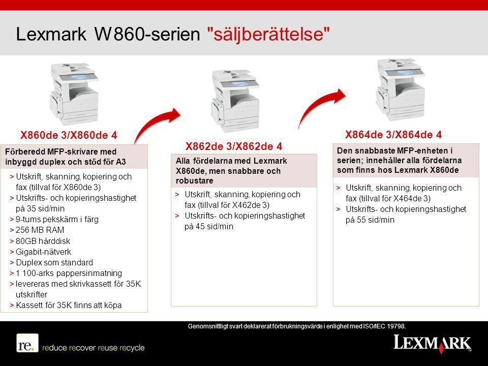 Lexmark W860-serien