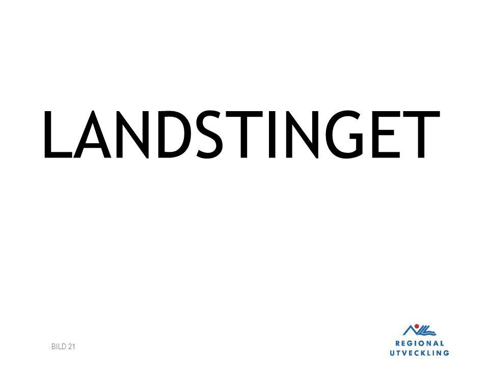 BILD 21 LANDSTINGET
