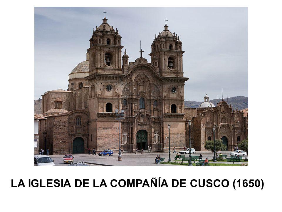 LA IGLESIA DE LA COMPAÑÍA DE CUSCO (1650)